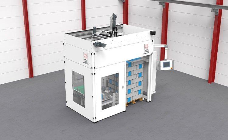 Portal Palettierer – Weber Waagenbau GmbH